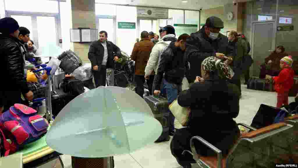 Мигратнтлар Казаннан оча