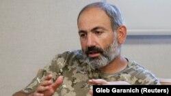 Udhëheqësi i opozitës në Armeni, Nikol Pashinian.