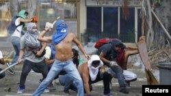 Акции протеста в Каракасе