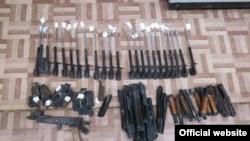 Фото знайденої зброї з сайту СБУ