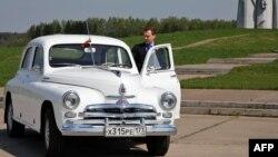 """Dmitri Medvedevin """"Pobeda""""sı"""