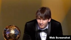Lionel Messi, Sürix, 10 yanvar 2010