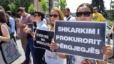 Kosovo: Protest in Pristina regarding the death of a child from roma community