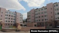 """""""Алим-Курулуш"""" фирмасы курган """"Ош-Ордо"""" турак жай комплекси."""