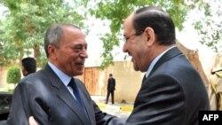 المالكي يستقبل البخيت في بغداد