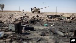 Scene ratnih dešavanja u Libiji, maj 2011.