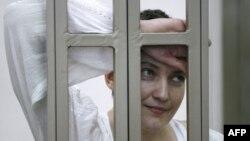Նադեժդա Սավչենկոն դատարանում, 29-ը սեպտեմբերի, 2015թ.