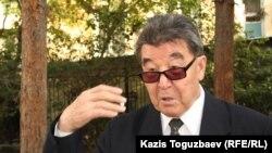 Копбосын Панзабеков, первый секретарь Алматинского горкома Коммунистической партии Казахстана. Алматы, 26 сентября 2013 года.