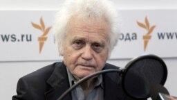 Юрий Орлов в студии Радио Свобода. Май 2011 года
