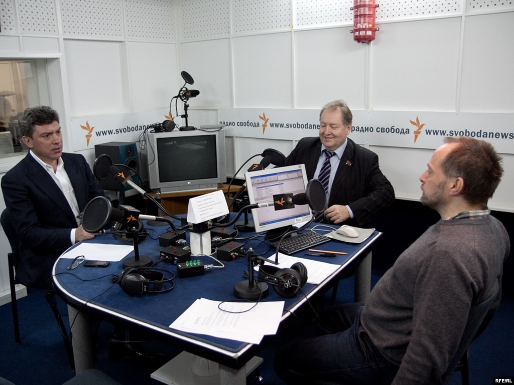Михаил соколов в студии радио свобода