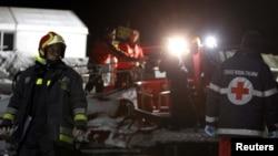 Спасатели в итальянских Альпах