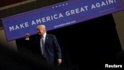Президент Трамп Хантингтон шаарында, 3-август 2017-жыл.
