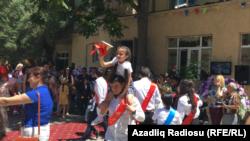 Bakı məktəbində «Son zəng». 2016