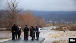 Macedonia - Floods in eastern Macedonia, in and near Strumica and Radovis - 25Feb2013