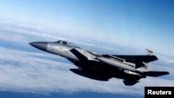 Патруль НАТО ў небе над Літвой
