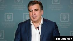 Губернатор Одесской области Украины, экс-президент Грузии Михаил Саакашвили. Киев, 23 июля 2015 года.