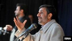 سخنرانی محمود احمدینژاد، رییس جمهوری ایران، در آذربایجان غربی.