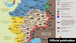 Ситуація в зоні бойових дій на Донбасі, 30 квітня 2017 року