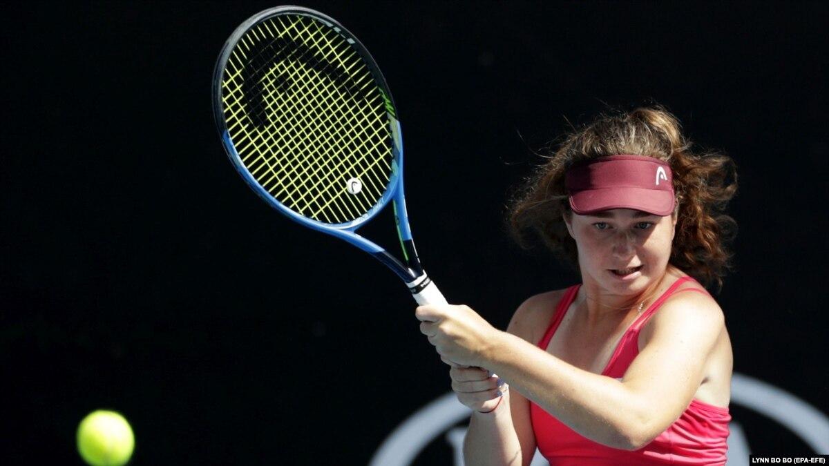 Теннис: Снегирь одержала первую победу над соперницей из топ-100