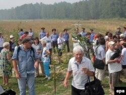 Акция протеста в защиту Химкинского леса. Москва, 2 августа 2010 года.