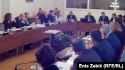 Sjednica Odbora za medije Hrvatskog sabora u Zagrebu