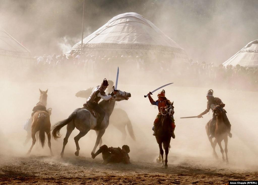 Инаугурация Вселенских игр кочевников в Кыргызстане, 4 сентября.