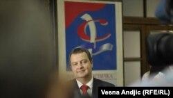 Ministar unutrašnjih poslova Srbije Ivica Dačić