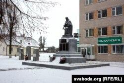 Помнік жыхарам Косава, якія загінулі ў вайну