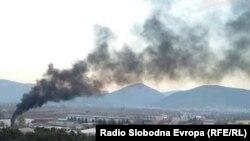Архивска фотографија- загадување на воздухот во Тетово
