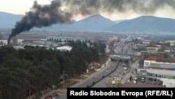 Архивска фотографија: Загаден воздух во Тетово