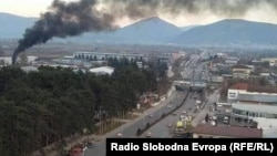 macedonia - Air pollution in Tetovo. pollution.