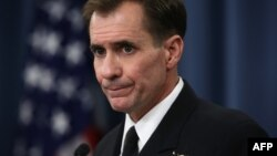 Pentagon spokeman Rear Admiral John Kirby