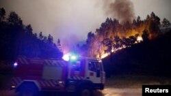 В Португалії горять ліси, 18 червня 2017 року