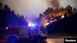 Šumski požari u Portugalu, fotoarhiv