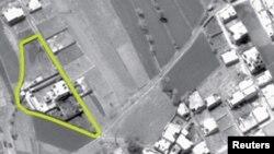Vedere aeriană a complexului rezidențial în care se ascundea Osama bin Laden la Abbotabad