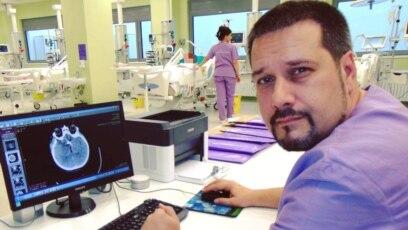 Radmilo Janković, direktor Klinike za anesteziju i intenzivnu terapiju niškog Kliničkog centra