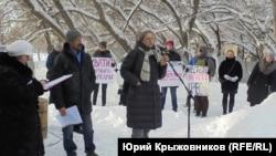 Экологический митинг в Барнауле