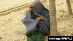 یک قربانی خشونت در افغانستان