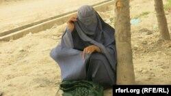 آرشیف، زن قربانی خشونت در افغانستان