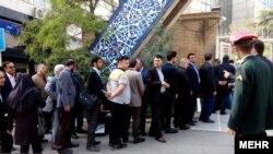 صف کاندیداهای ریاستجمهوری ایران در روز سوم ثبتنام
