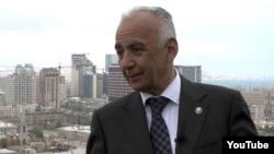 Azerbaijan -- Hajibala Abutalibov, the Mayor of Baku