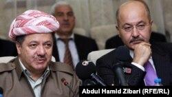 بارزاني ورئيس الحكومة المستقبل برهم صالح