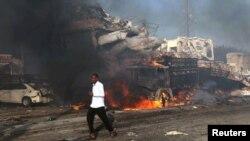 Eksplozija u glavnom gradu Somalije desila se i pre dve nedelje