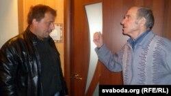 Да Анатоля Сахарушы завітаў незалежны дэпутат Валер Білібуха