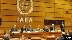 Delegates at IAEA headquarters in Vienna (file photo)