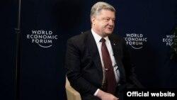 Petro Poroșenko la Davos