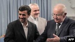 Ноҷӣ Утрӣ-нахуствазири Сурия бо Аҳмадинежод