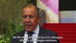 Lavrov: An Alternative To Dialogue With U.S. 'Does Not Exist'