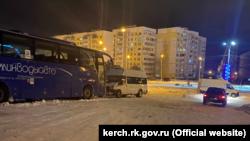 Автобусы в Керчи, 19 февраля