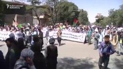 په کابل کې د جنبش روشنایې مظاهره